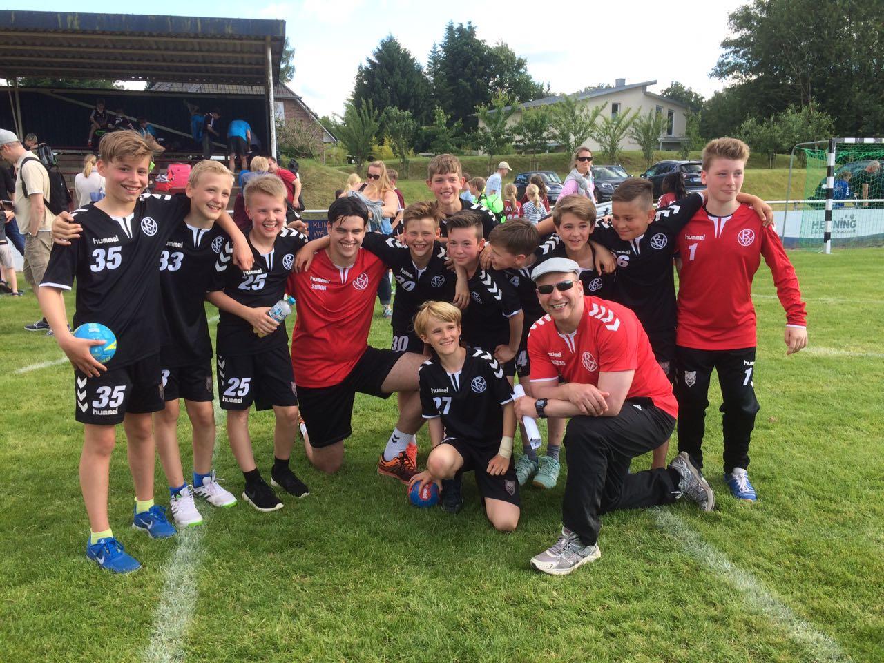 3. Platz Junior-Cup der SG Hamburg-Nord 2017