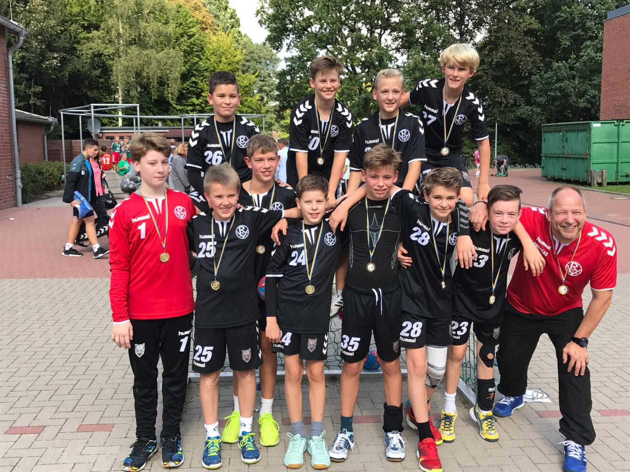 1. Platz Pinnau-Cup 2017